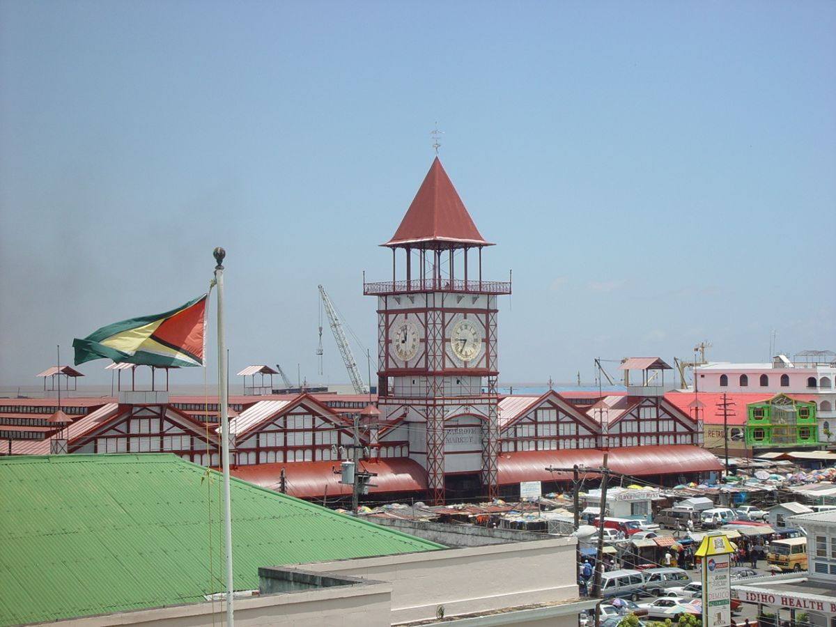The notorious Stabroek market area